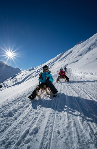 Aktiv- Winterurlaub im Ötztal