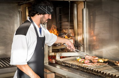 Gourmet grill at Area 47 in Ötztal