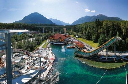Area 47 – Europe's largest outdoor adventure park in Ötztal