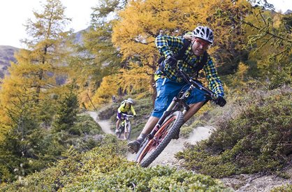 Mountain bike holidays at Alpenappart Rimlhof in Längenfeld
