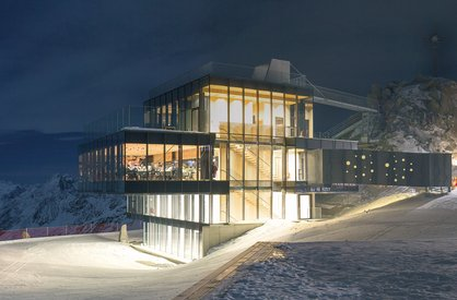 Sölden ski area in Ötztal
