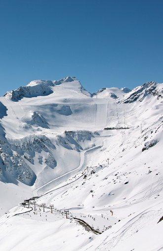 Skigebiet Sölden im Ötztal