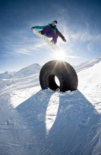 Snowboardurlaub in Längenfeld im Ötztal