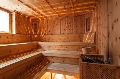 Saunalandschaft im Alpenapart Rimlhof im Ötztal