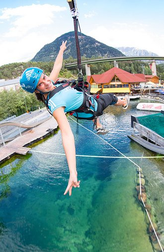 Fun and activity holidays at Area 47 in Ötztal